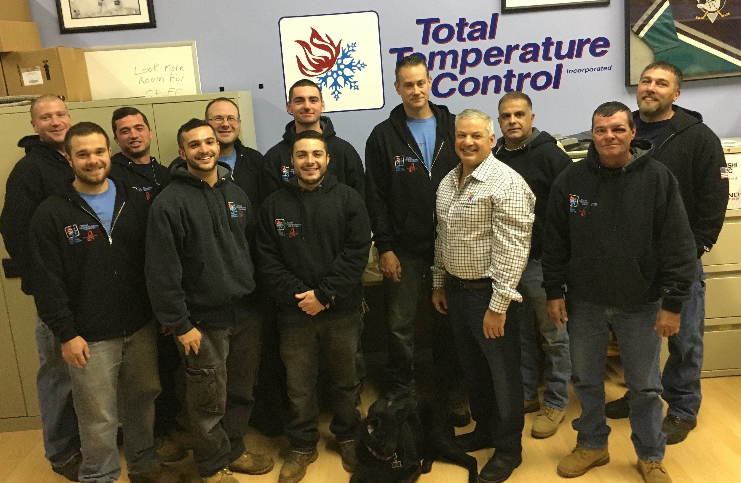 Customer Care and professionalism are important to Total Temp's HVAC Team.