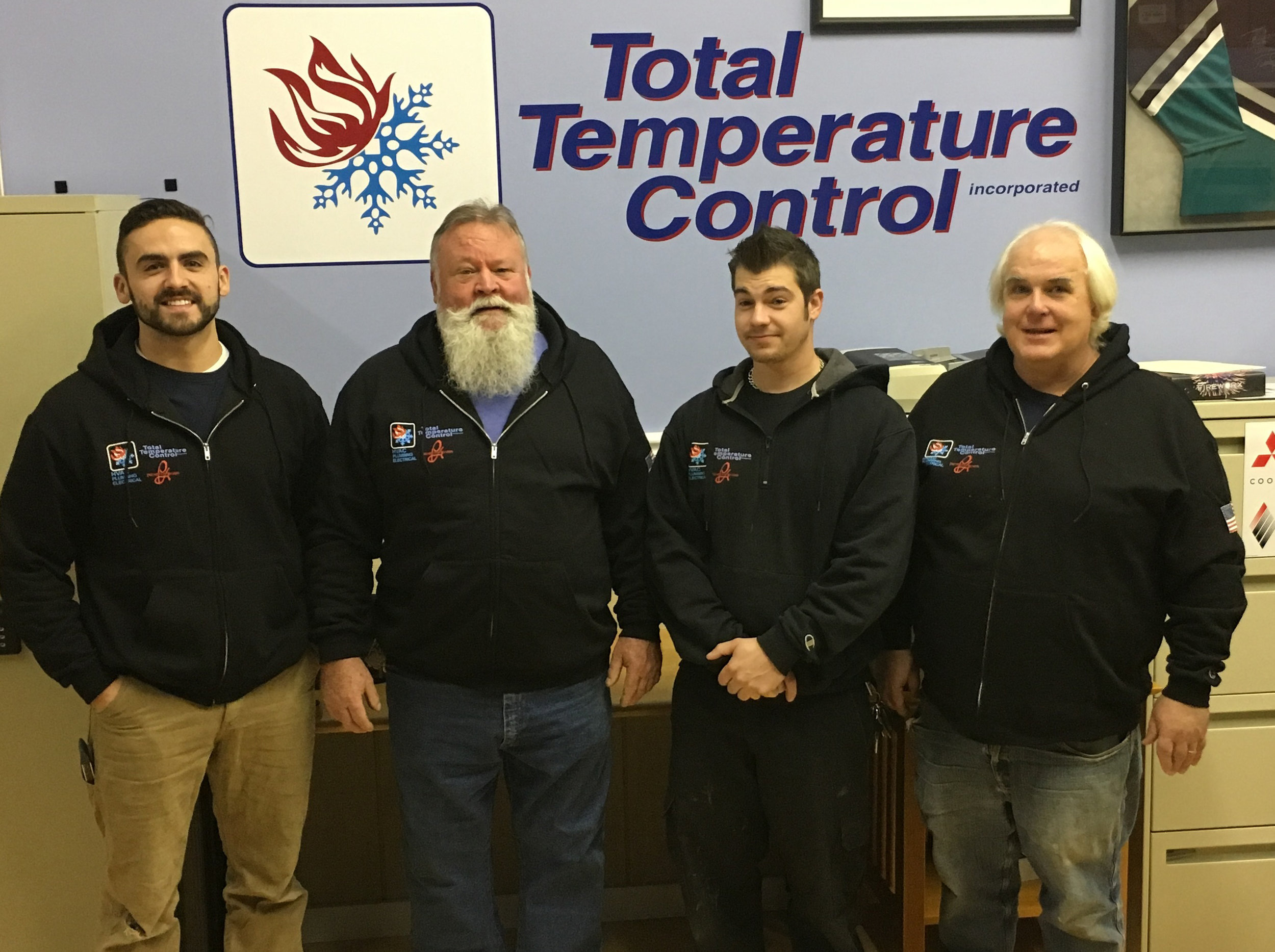 The plumbing staff at Total Temp hold themselves tot he ighest standards of customer care.