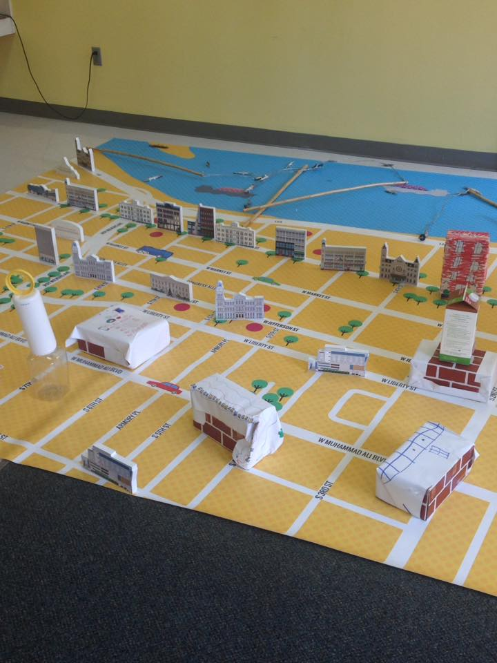 City Placemat