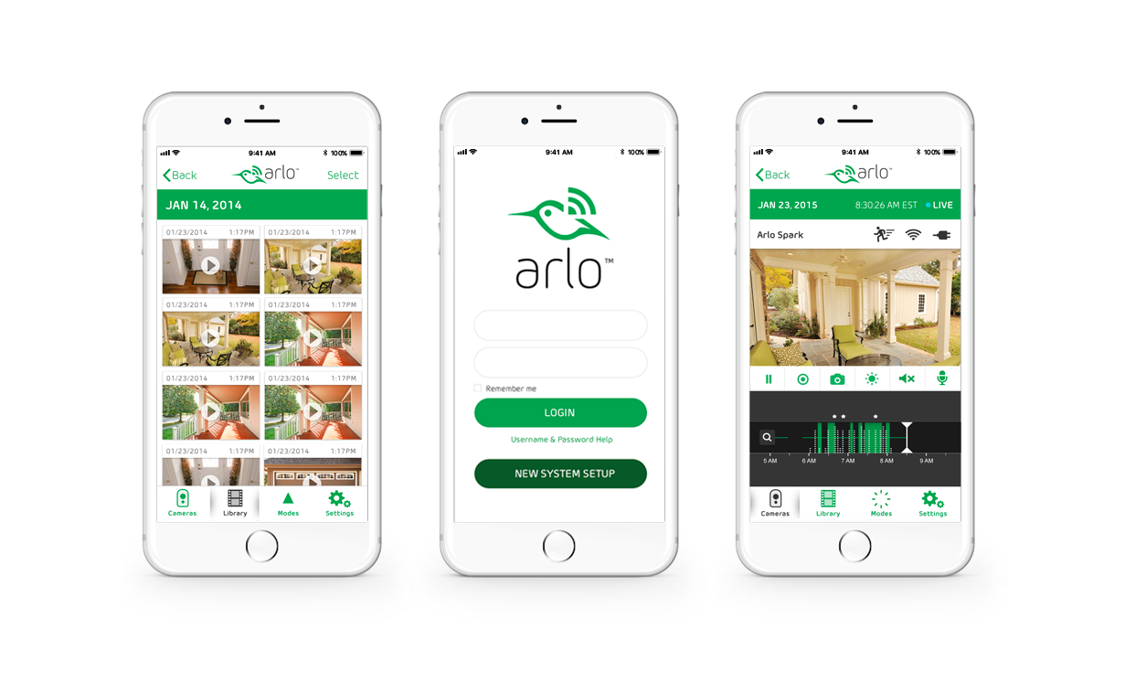 Arlo Mobile Monitoring App