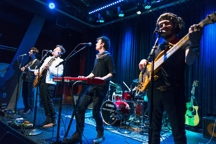 John and his band, Morningbird