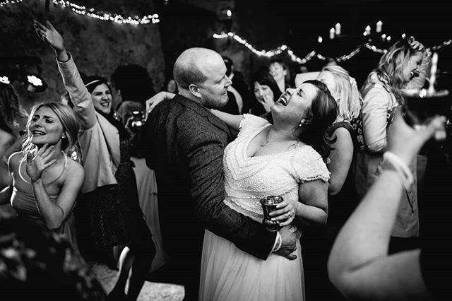 """I think these pics pretty much sums up @h_c_dunn And Matt's party. After the most stunning ceremony in the most beautiful church, it was off to @highereggbeer . Their brief was simple, EVERYONE RELAX AND HAVE FUN and that was lapped up by all. An amazing day I'm so proud to have been a part of. Big shout out to @bdskyscrapers for providing the unbelievable talent, the dancefloor is ALWAYS jumping when these guys are around.  Words from Hannah and Matt """"Oh Alex!!!!! They are just beautiful, we really cannot thank you enough! Felt very emotional going through them and reliving our wonderful day, you've captured it so well!  Alex you really made our day!"""""""