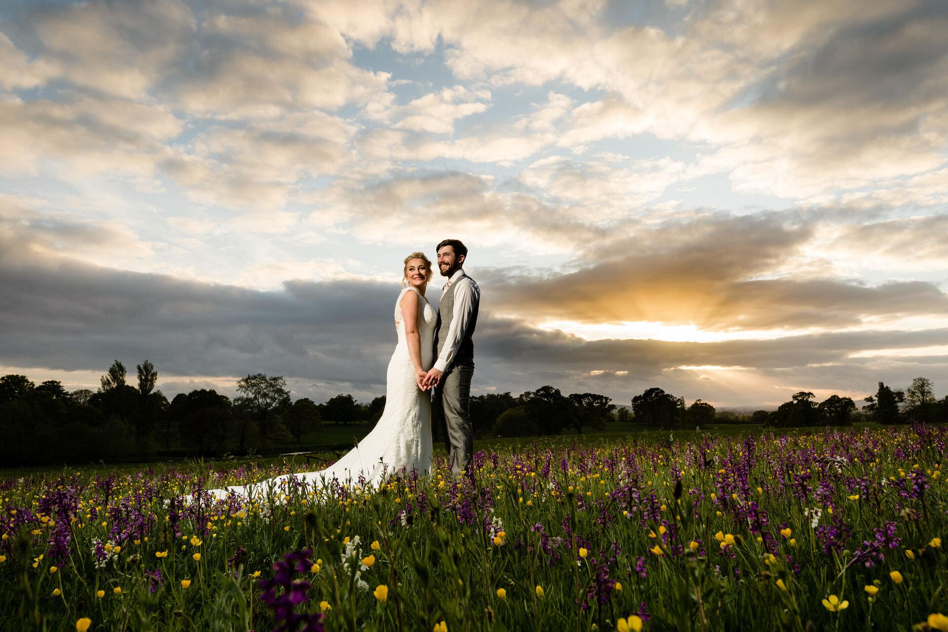 sunset-rockbeare-manor-wedding-photography