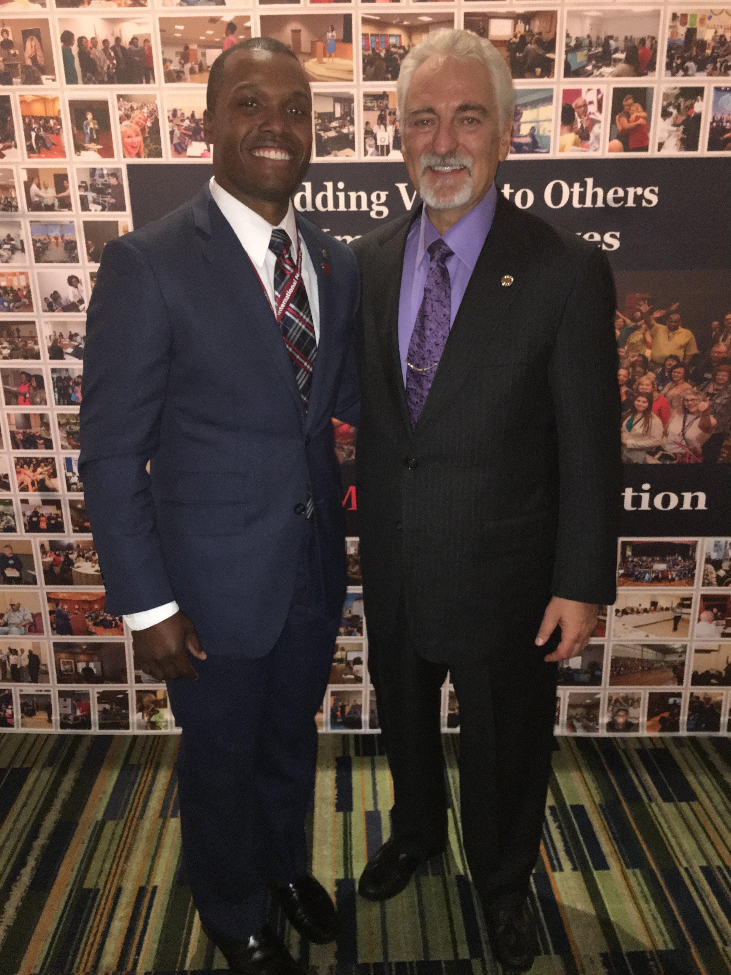 Bryant Hall Sr. & Ivan Misner