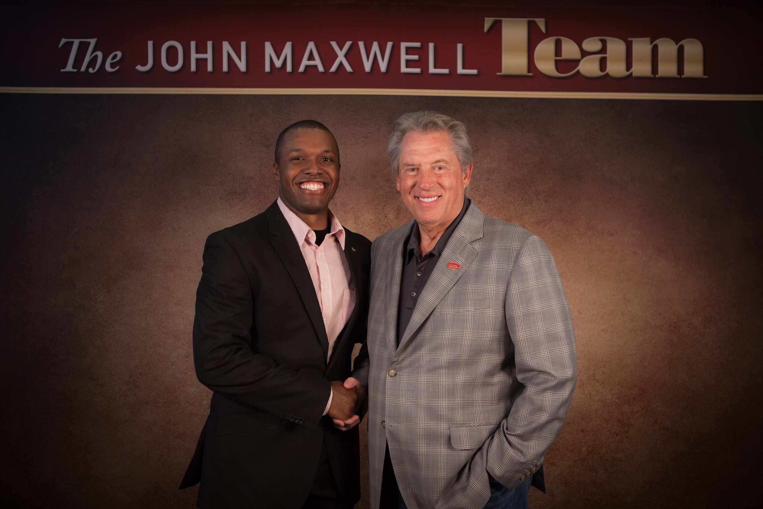 Bryant Hall, Sr. & John Maxwell