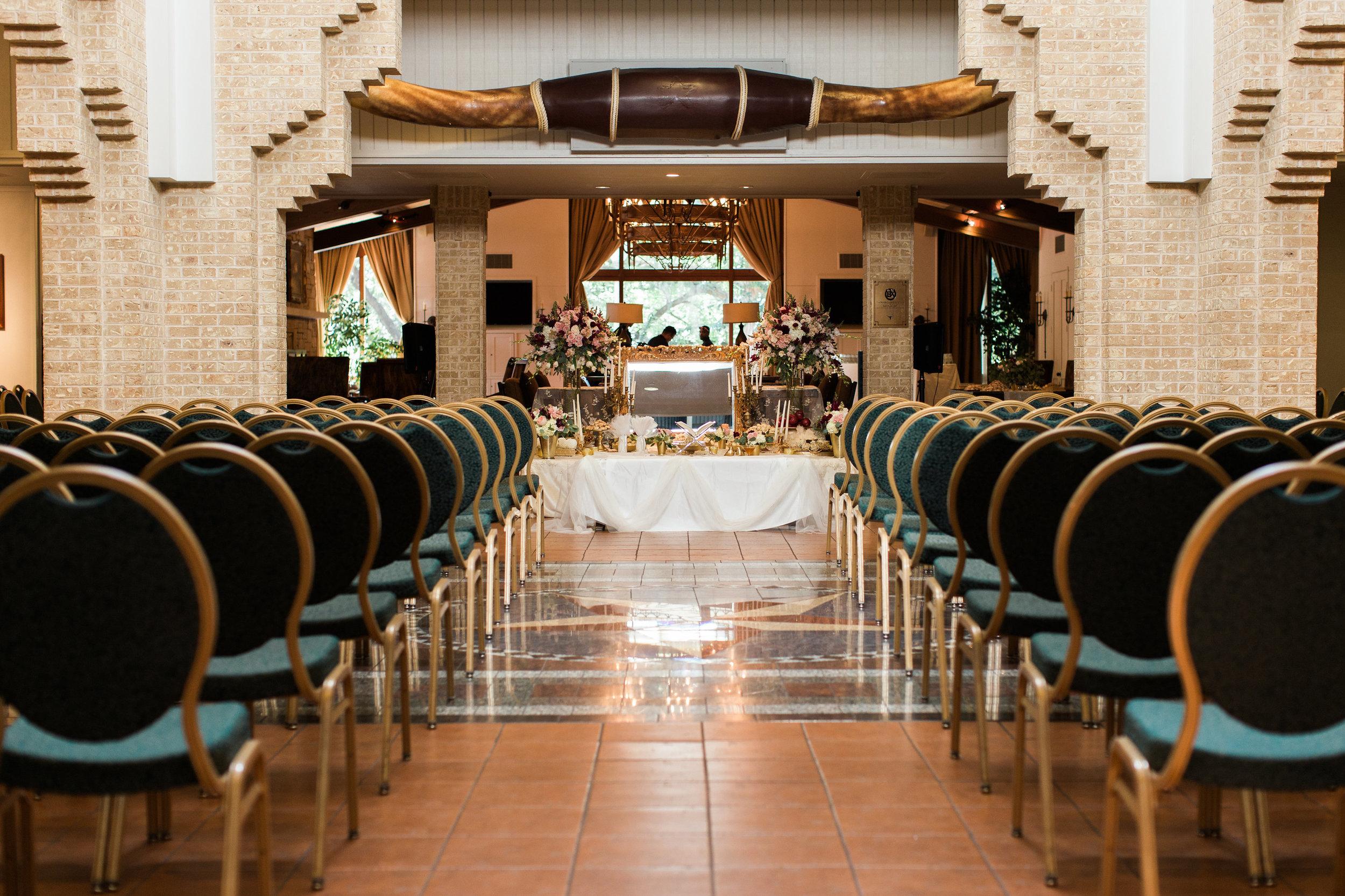 indoor ceremony rain plan for Jewish wedding