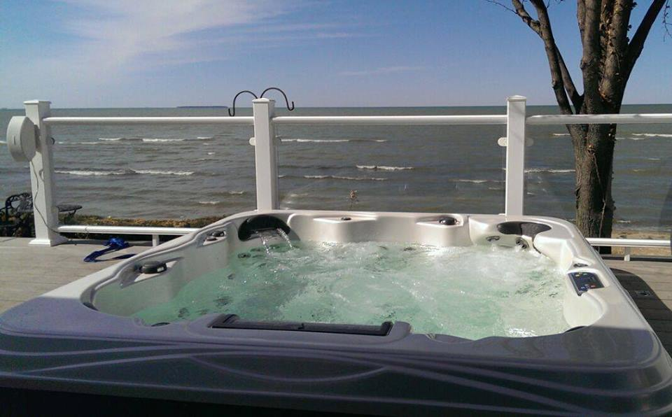 Relax in your very own spa!     Get Financed