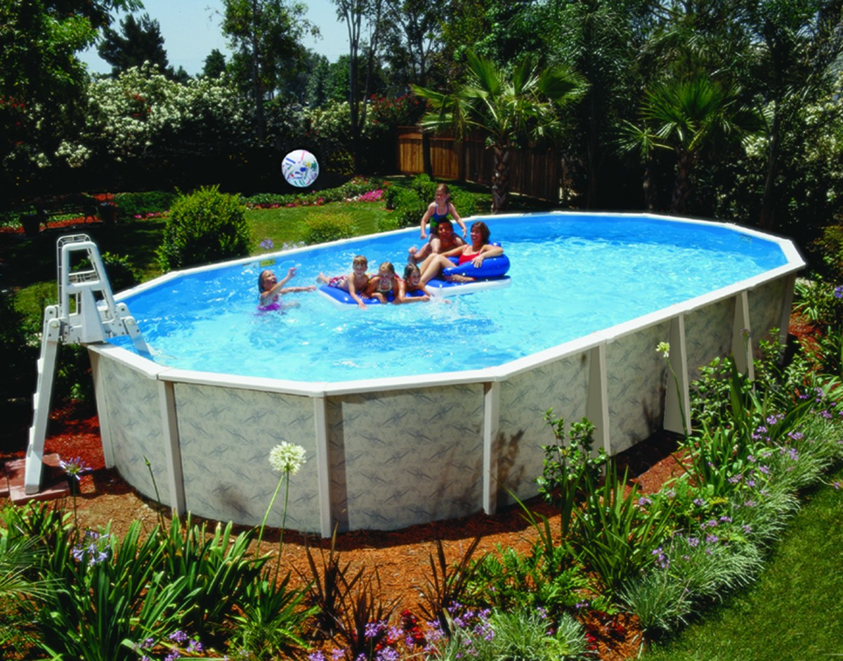 Above Ground Pools — Blue Water Spas and Pools
