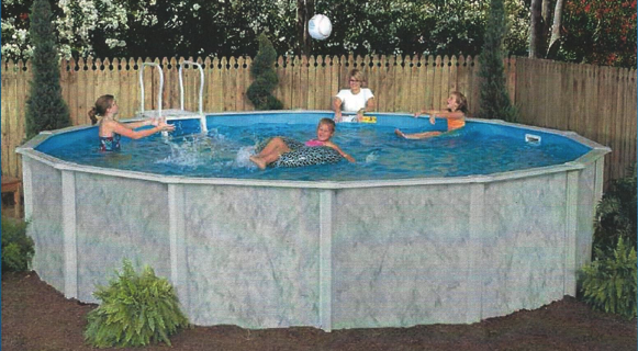 Graystone Above Ground Pool