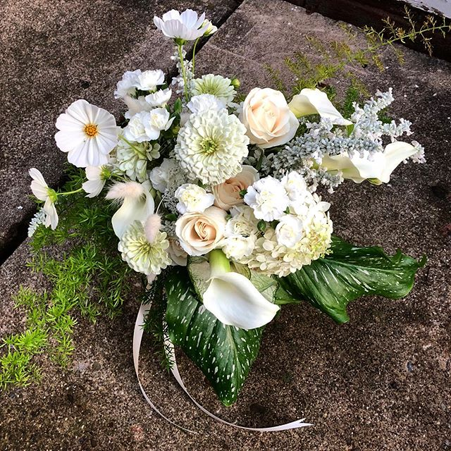 Nothing quite as sweet as a one year anniversary bouquet for our fave @hgerbsss!  Hannah, you will always hold a very special place in our hearts. May your celebration be a reflection of this incredible life you've built on love.💚