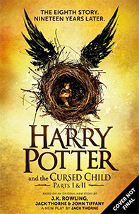 This is the book I'm the most excited to read. It's a play that picks up the Harry Potter story 19 years after the last book!