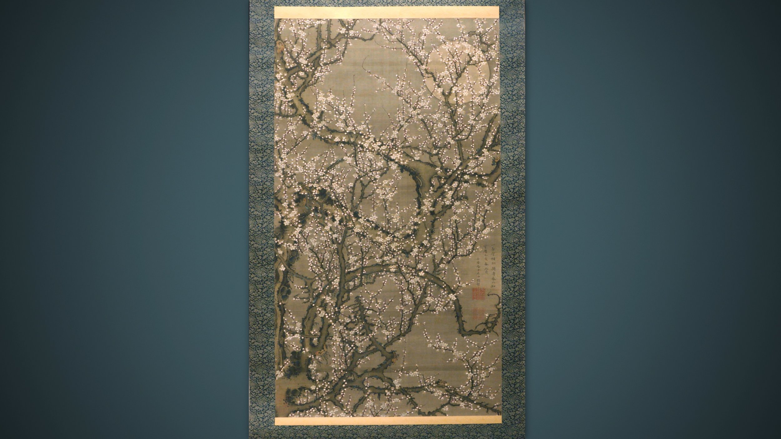 White Plum Blossoms and Moon   Metropolitan Museum of Art