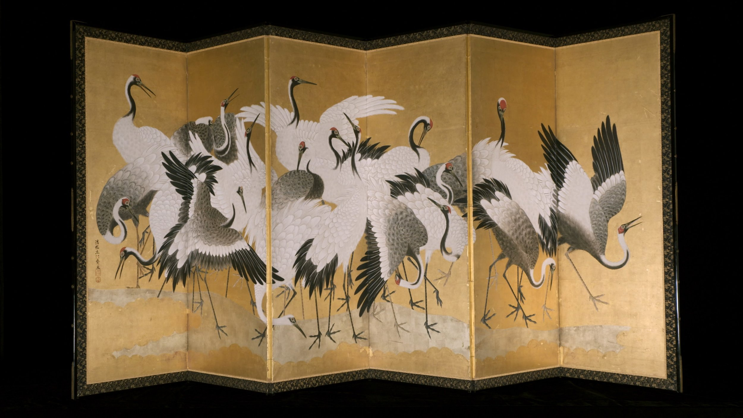 Cranes   Minneapolis Institute of Art