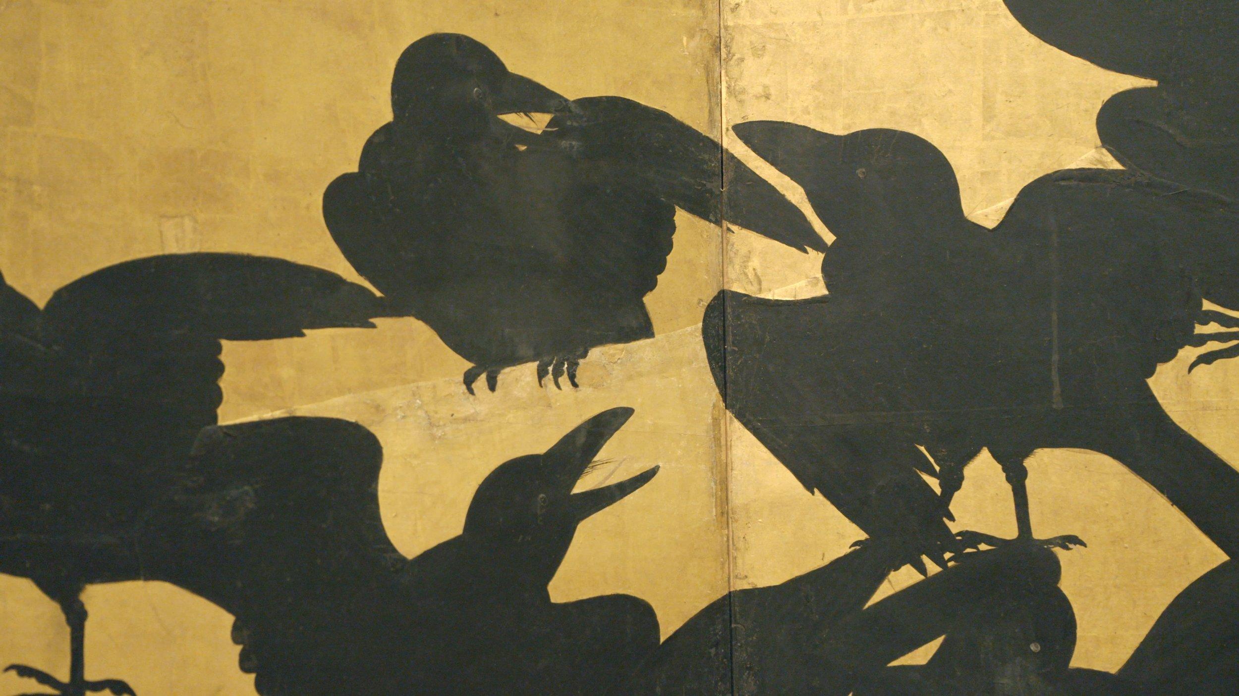 Crows   Seattle Art Museum