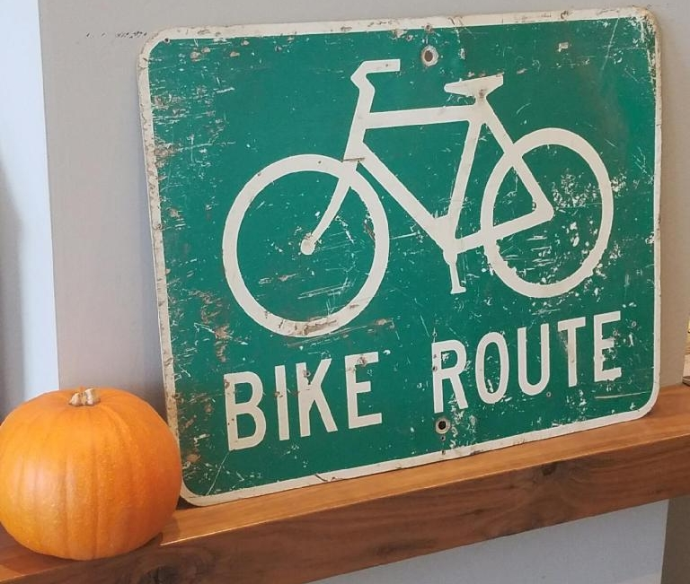When in doubt...find a bike route=)