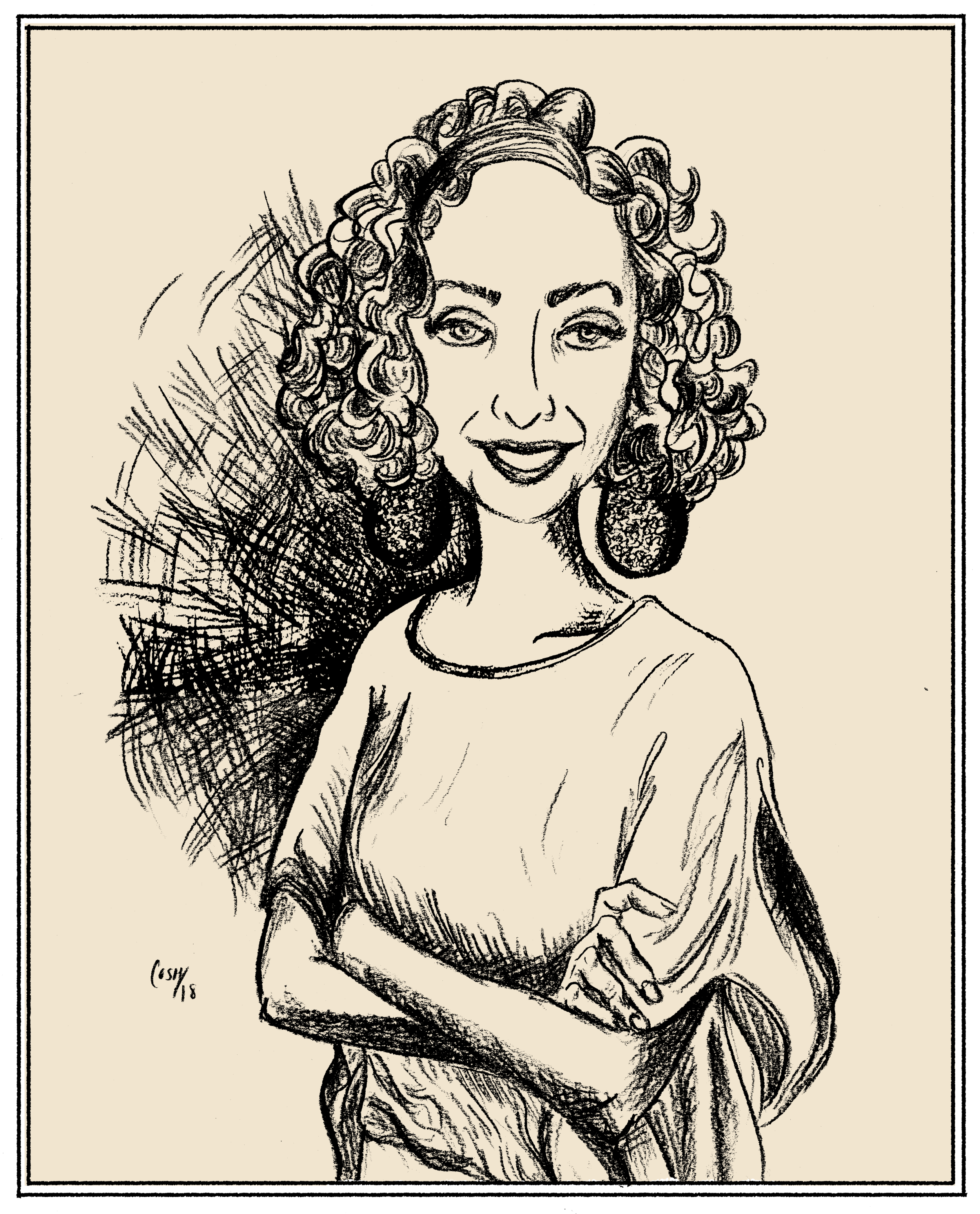 Sofia Samatar, Pocket Interview No. 7 - Sofia Samatar lives in Virginia. Her 2014 debut novel, A Stranger in Olondria, won the World Fantasy and British Fantasy awards for Best Novel. Her most recent book, published in February of this year, is Monster Portraits, an autobiography threaded with accounts of fantastic creatures illustrated by her brother.Last year, Sofia spoke with us about, among other things, jazz, identity, belonging, feeling lost in life and in stories, and how we might use language to build, and remember, home. Also, Enid Blyton.(click here to listen to an audio version of this interview)1-2-3-4-5 -Questionnaire