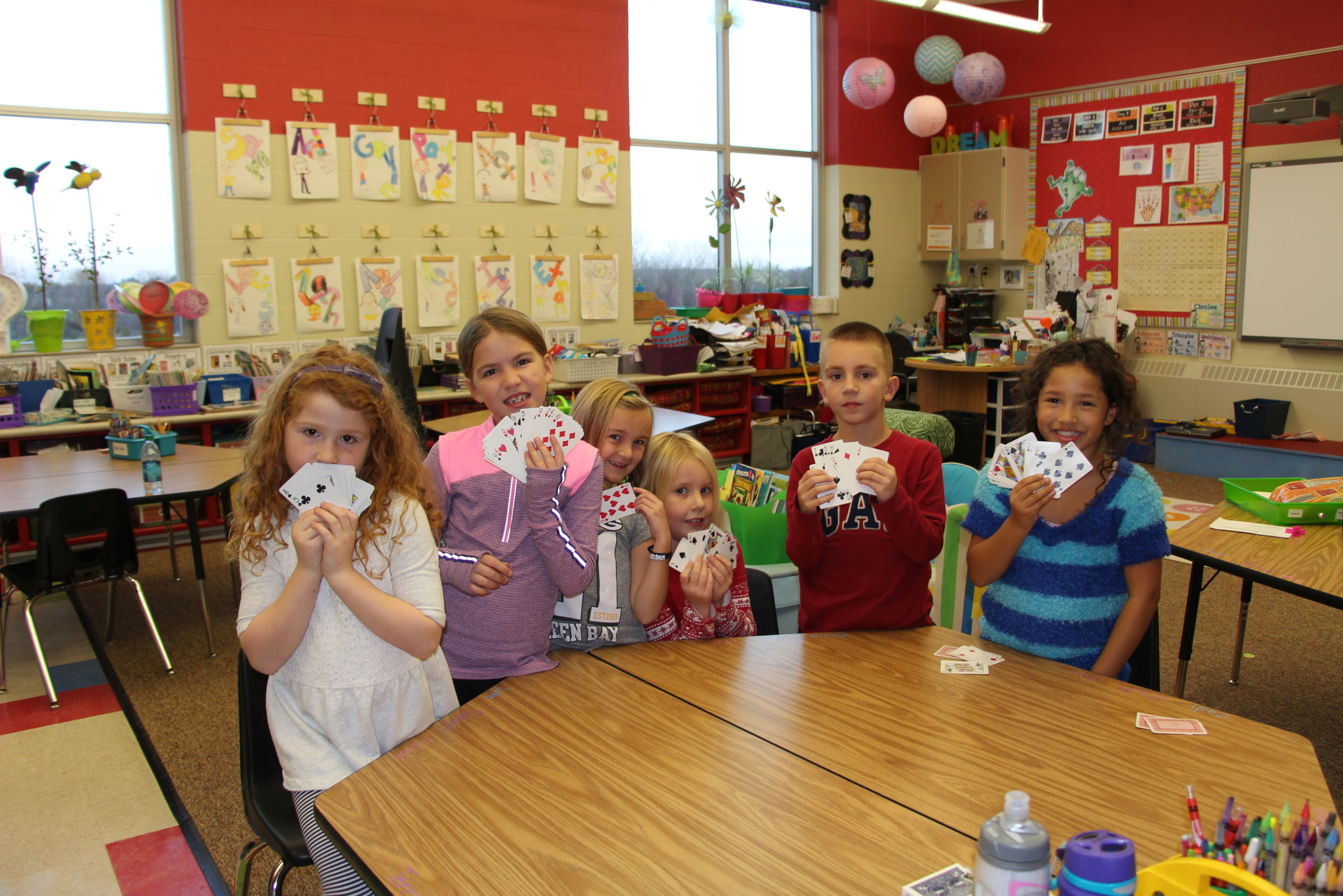 2nd grade card sharks.JPG