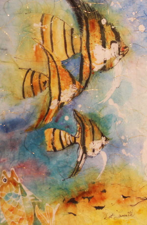 Golden Angel Fish By: Dorothy Lamuth