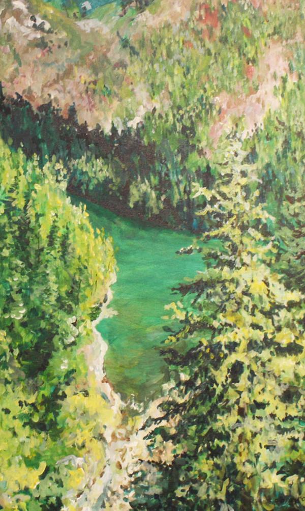 Skagit River By: Patricia Argyros