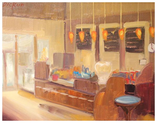 Copy of Pat Dickun, Gallery Cafe