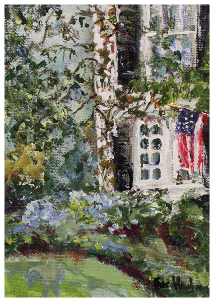 Copy of Sue Hrubes, Patriotic House on Weldon