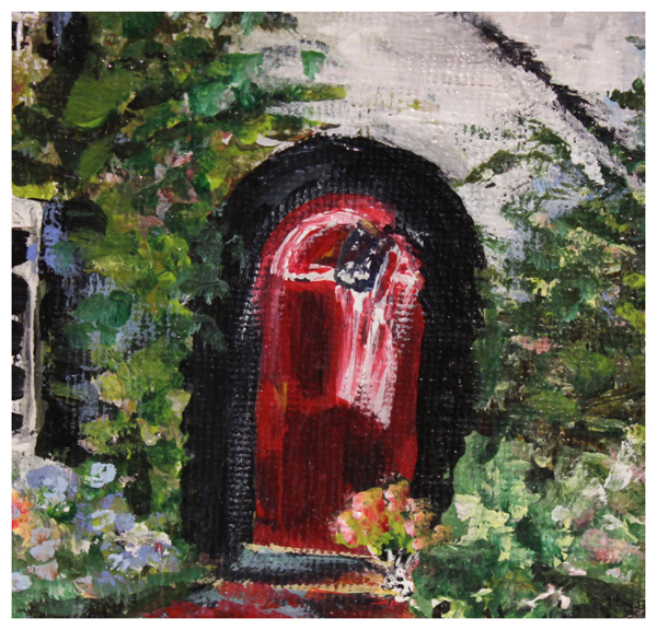 Copy of Sue Hrubes, Red Door