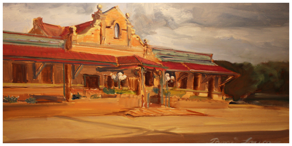 Copy of Tami Louco, The Train Station