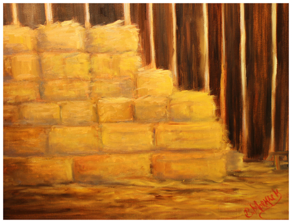Copy of Becky Mormack, First Straw Bales