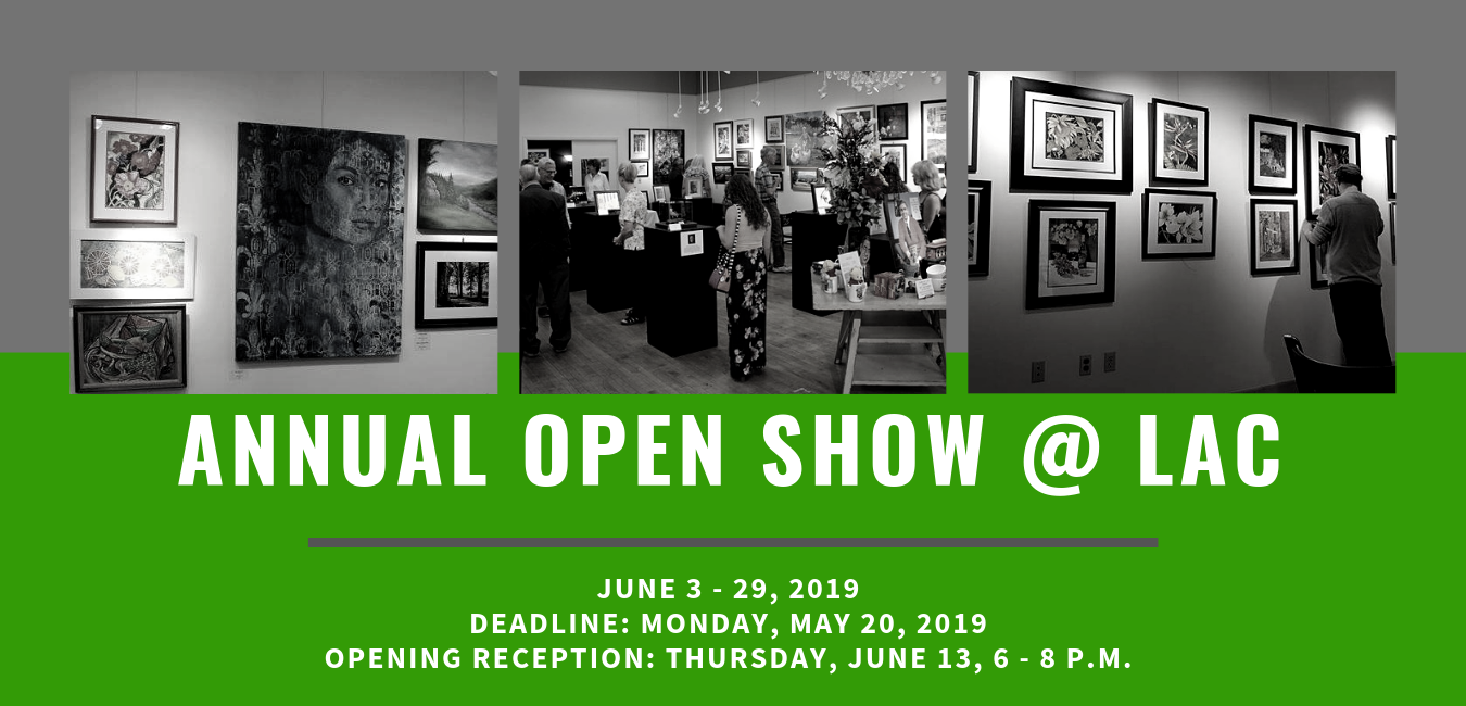 2019 Annual Open Show Web Banner