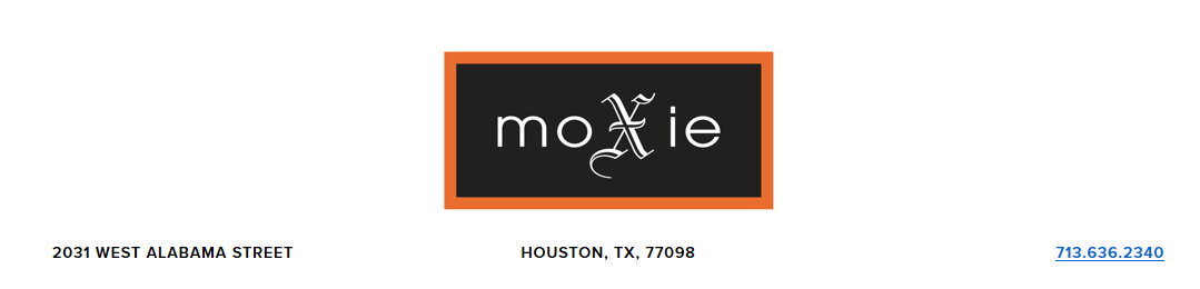 We are pleased to be featured at Moxie -