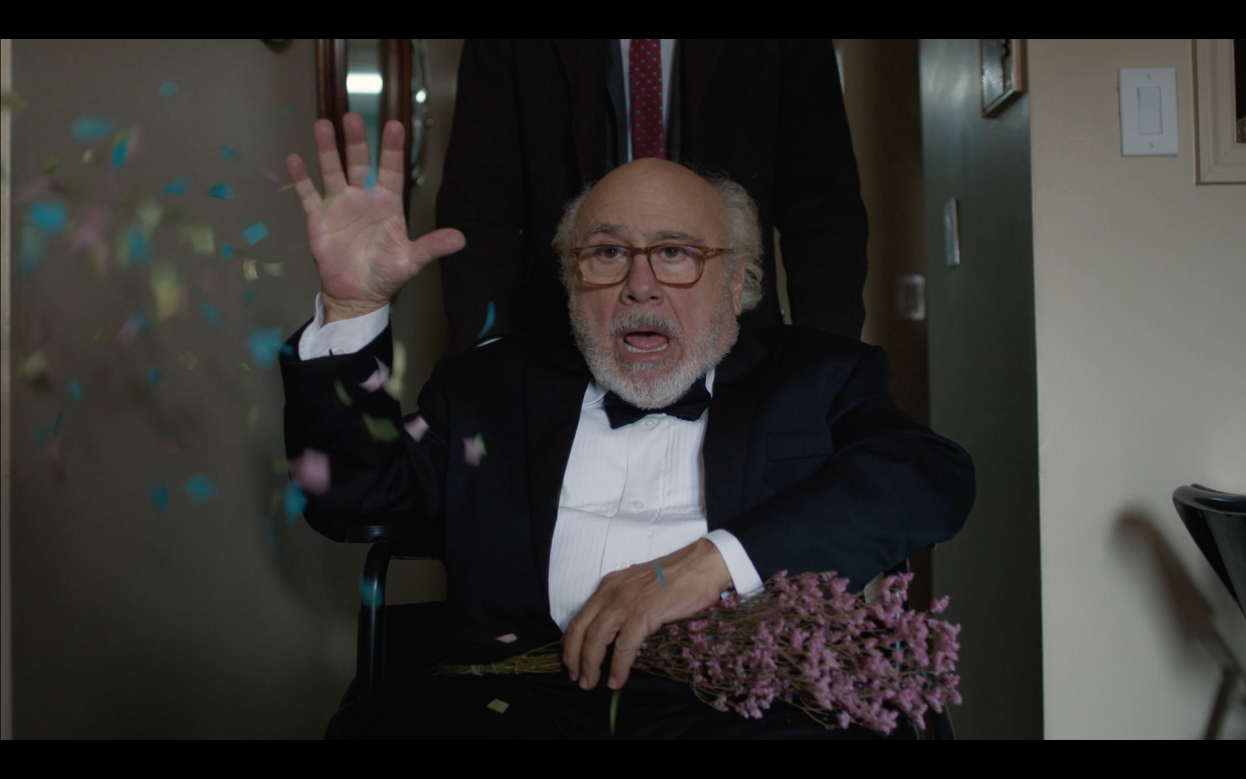 Image: DeVito and Margulies in  Curmudgeons
