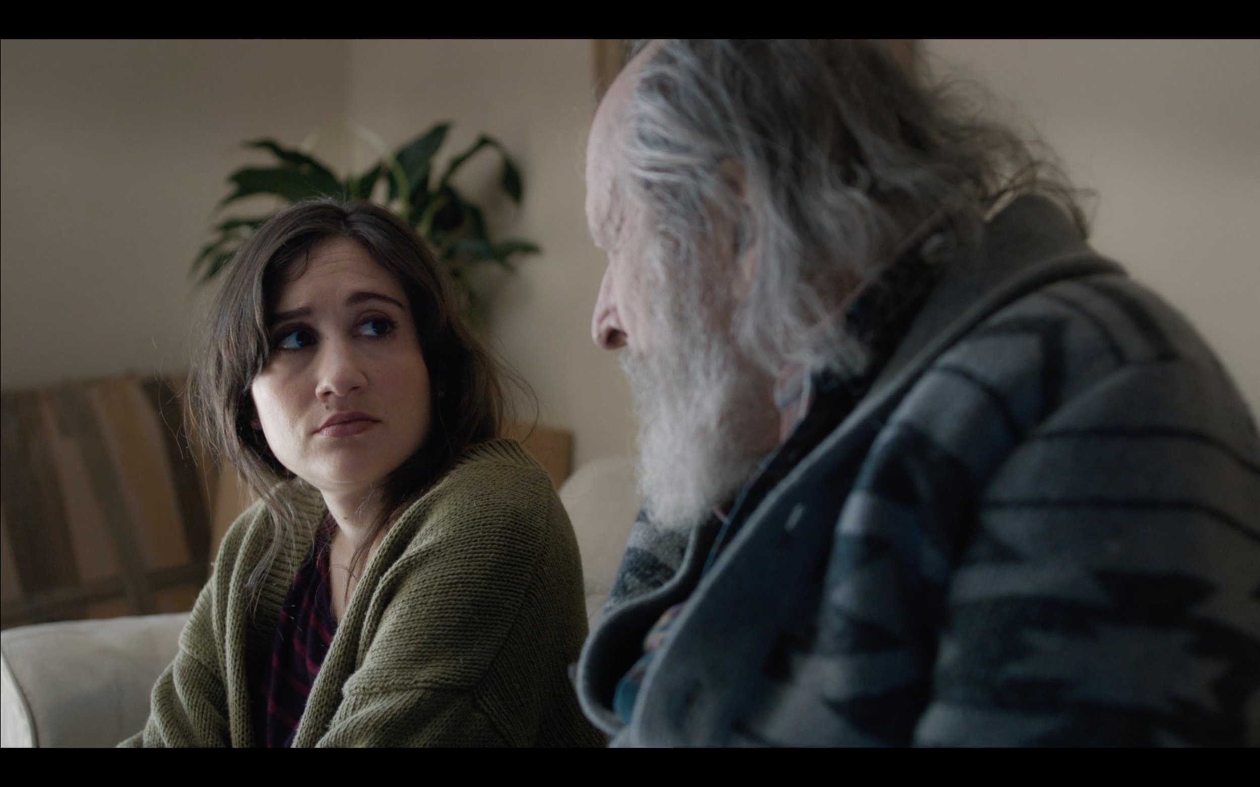 Image: Lucy DeVito and Margulies in  Curmudgeons