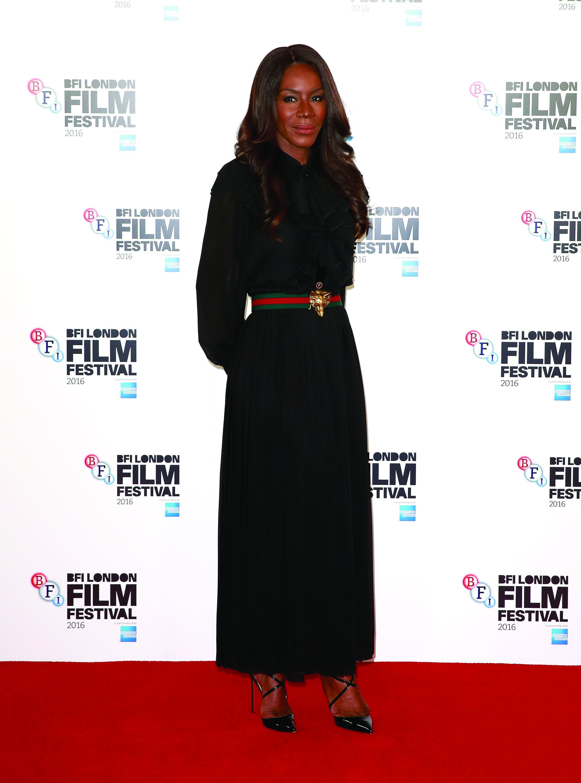 Image: Amma Asante at the BFI London Film Festival