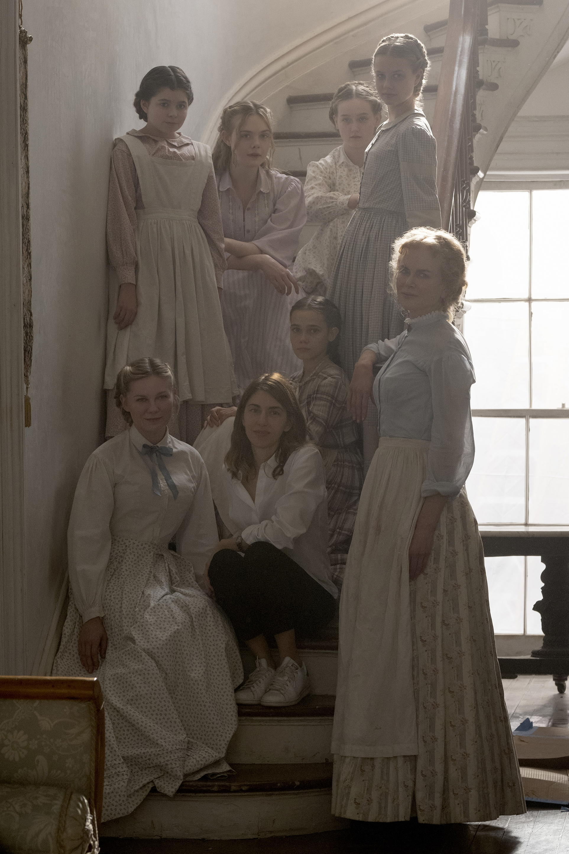 Sofia Coppola and the cast of  The Beguiled: Credit Universal Pictures