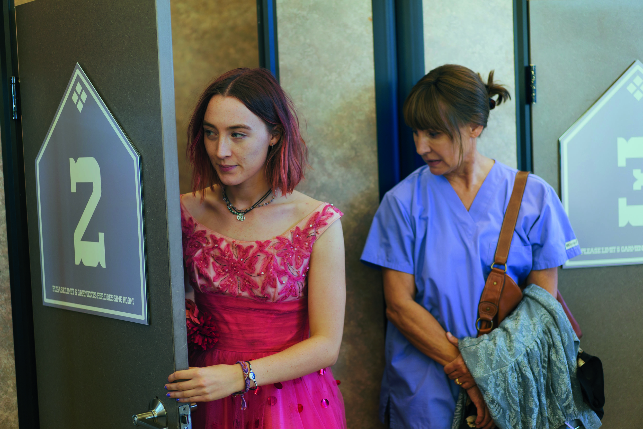 Saoirse Ronan and Laurie Metcalf in 'Lady Bird': Credit: Universal Pictures
