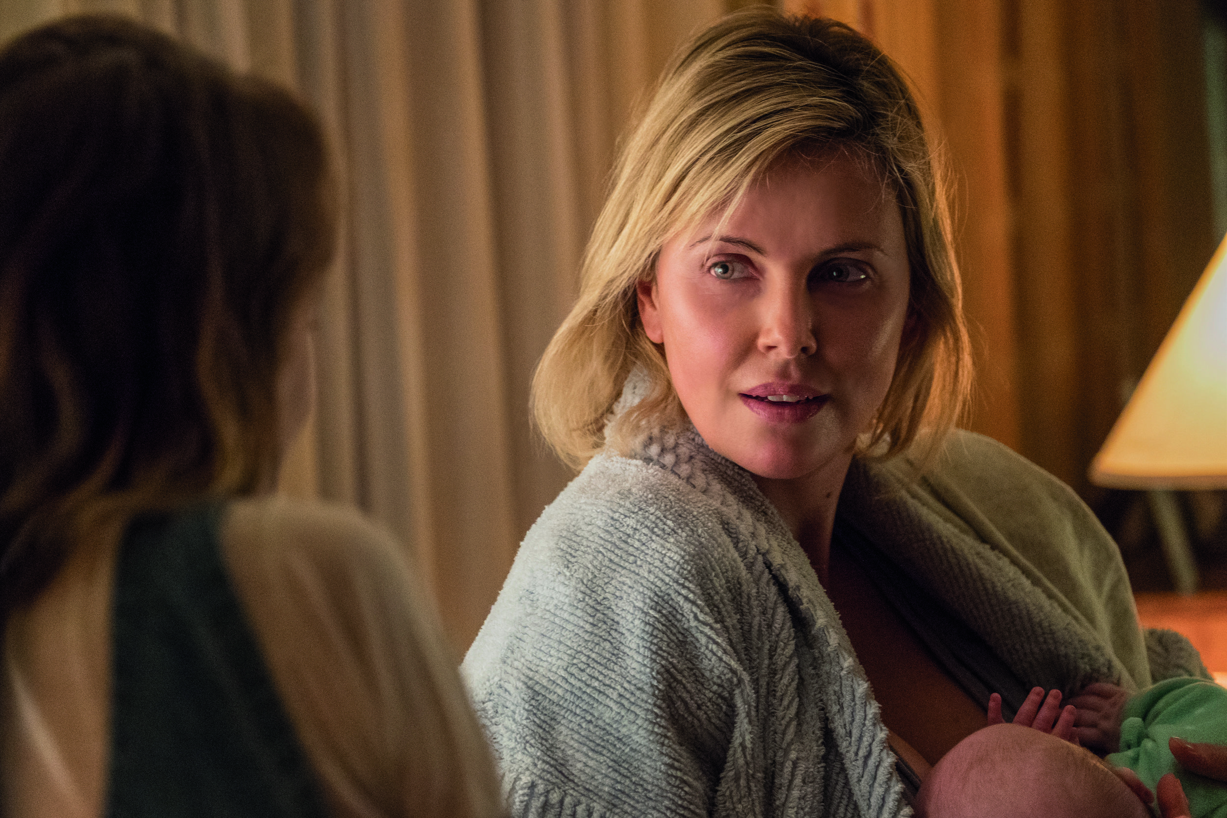 Charlize Theron as Marlo in 'Tully' CREDIT: UNIVERSAL