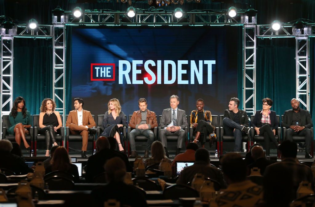 The cast of The Resident CREDIT:Getty