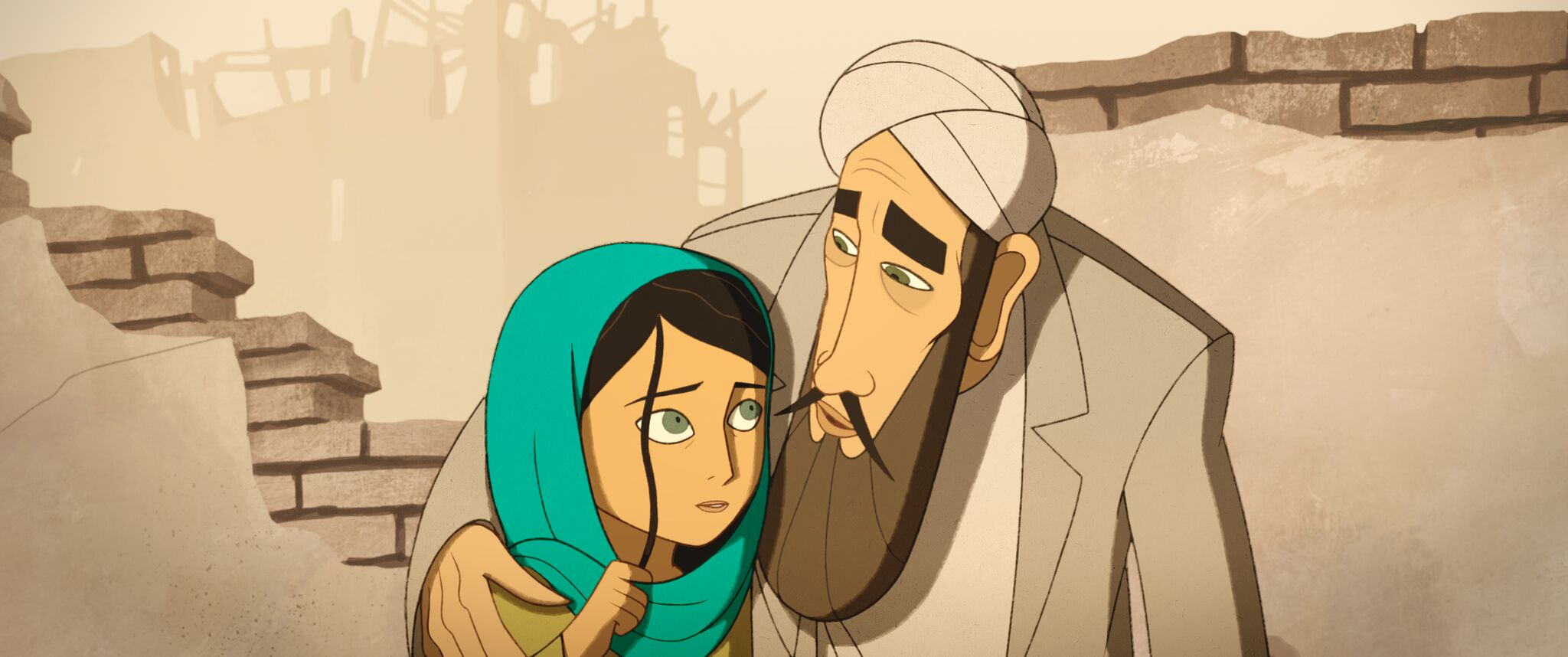 """The Breadwinner - """"at its heart is the story of a girl who loves her daddy."""" CREDIT: Studio Canal"""