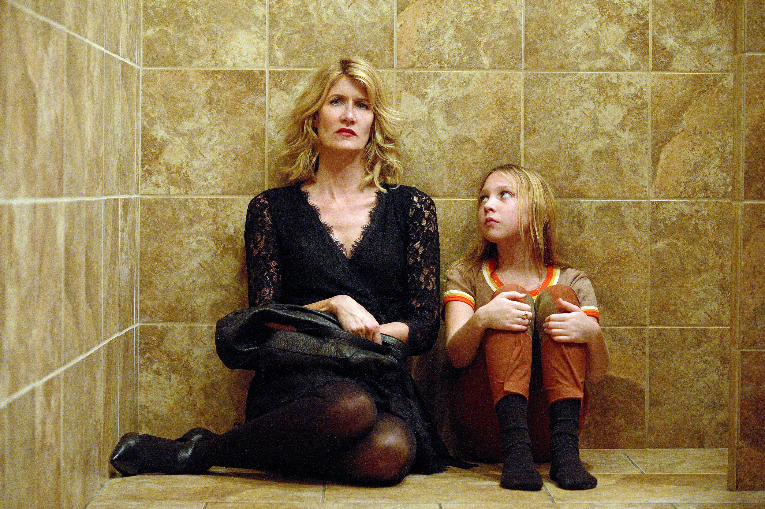 Laura Dern plays Jen Fox,, trying to come to terms with the experiences her younger self suffered. CREDIT: HBO
