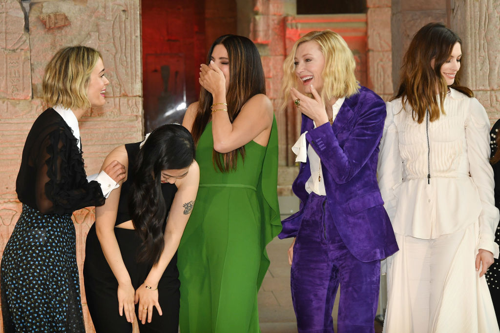 Ocean's 8: pulling off robbing the box office. Courtesy GETTY
