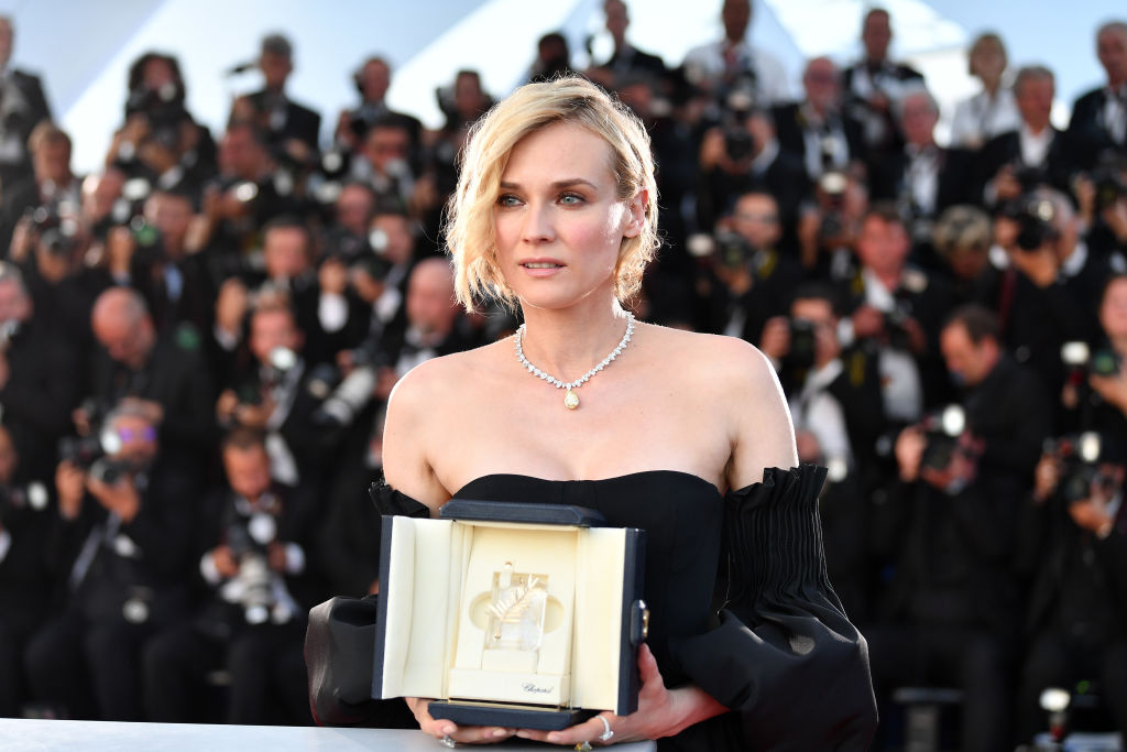 Diane Kruger won the Best Actress Prize at Cannes Film festival in 2017 CREDIT: Getty Images