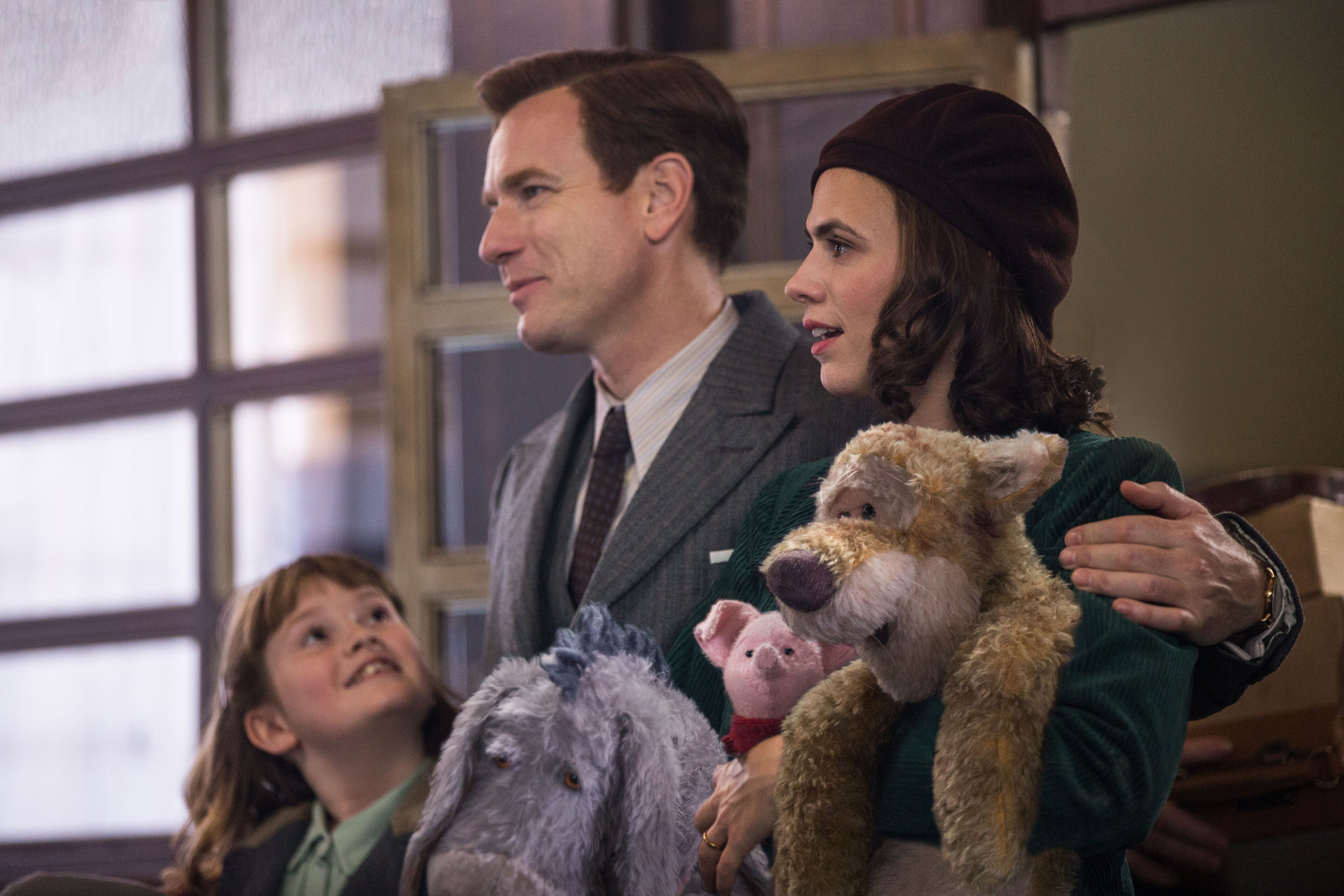 Hayley Atwell as Evelyn in 'ChristopherRobin' out August 17. CREDIT: Disney