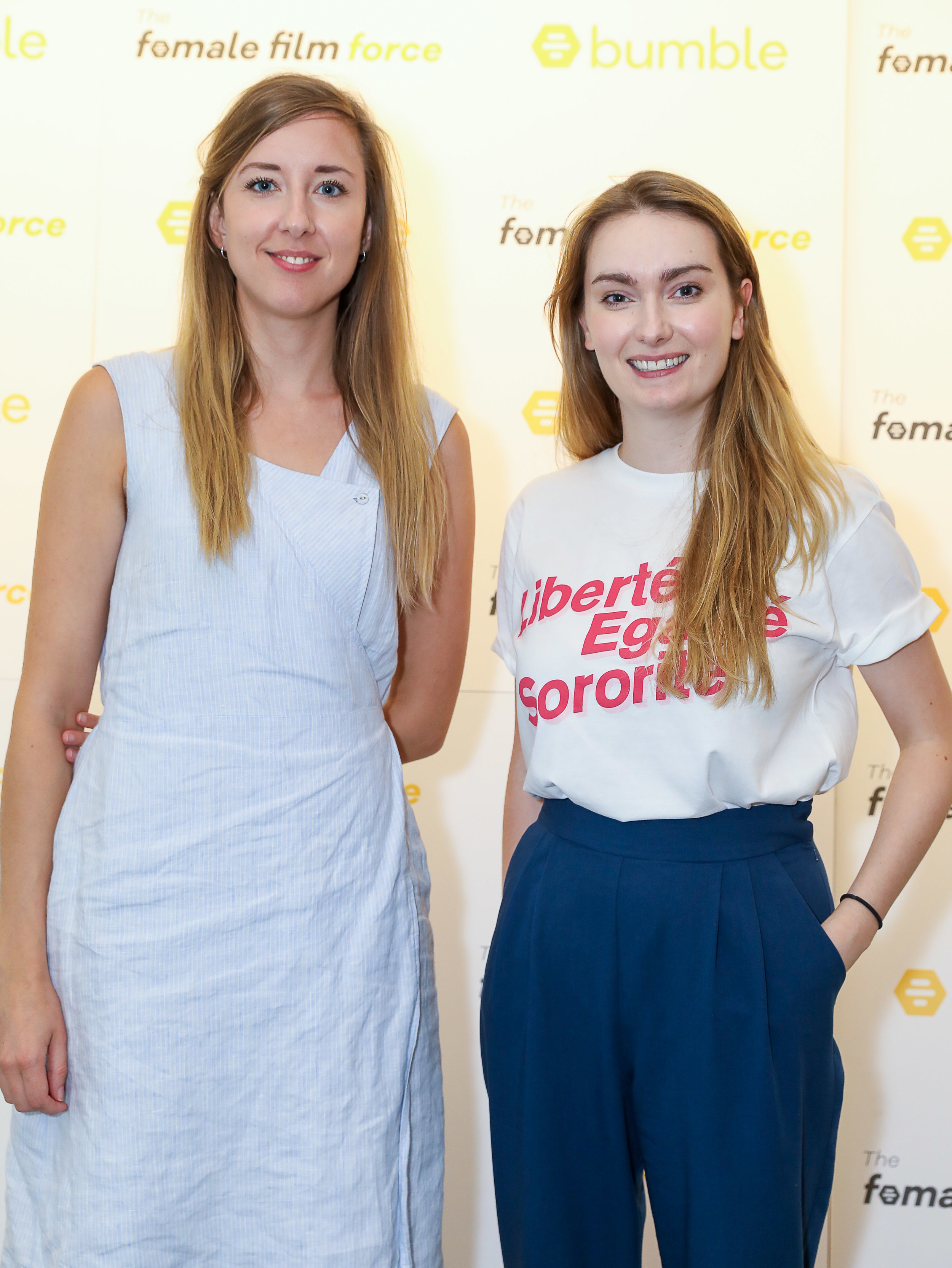 Tilly Coulson and Emma Moffat CREDIT Dave Benett/Getty Images