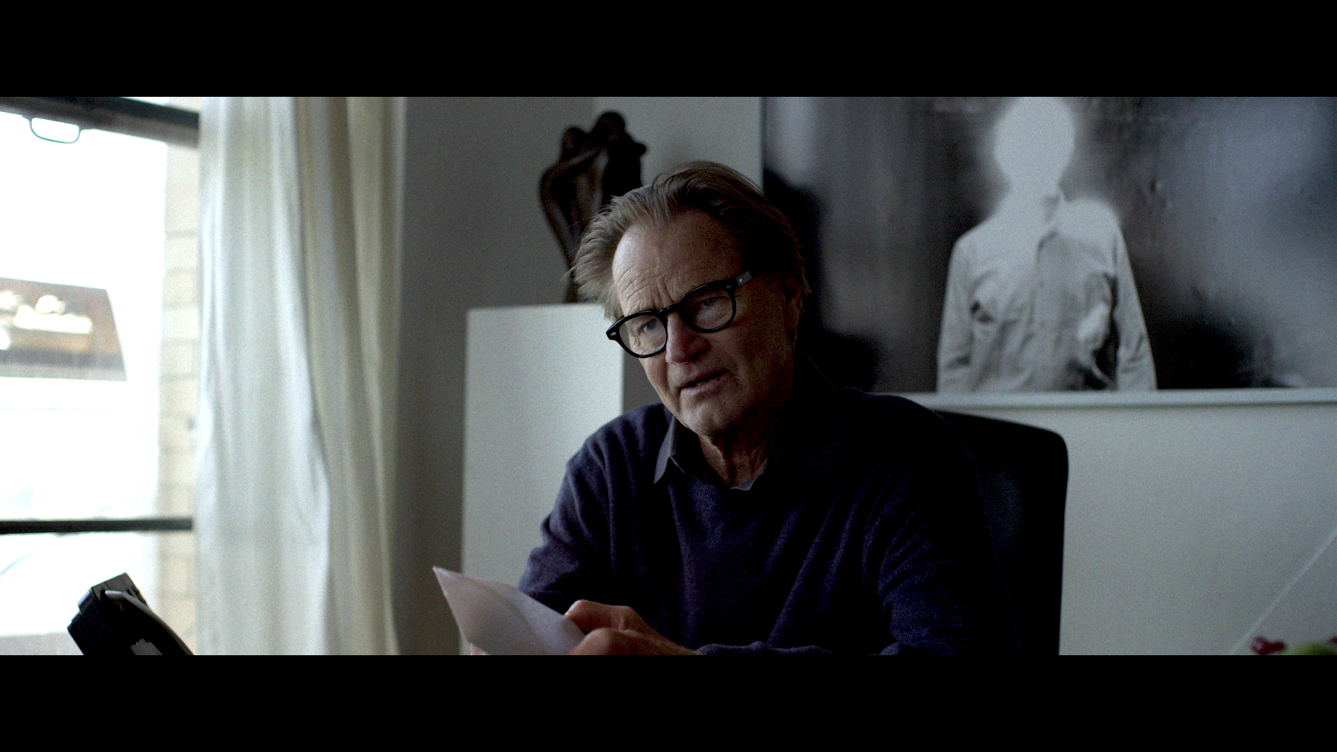 Sam Shephard's last credited role in 'Never Here'