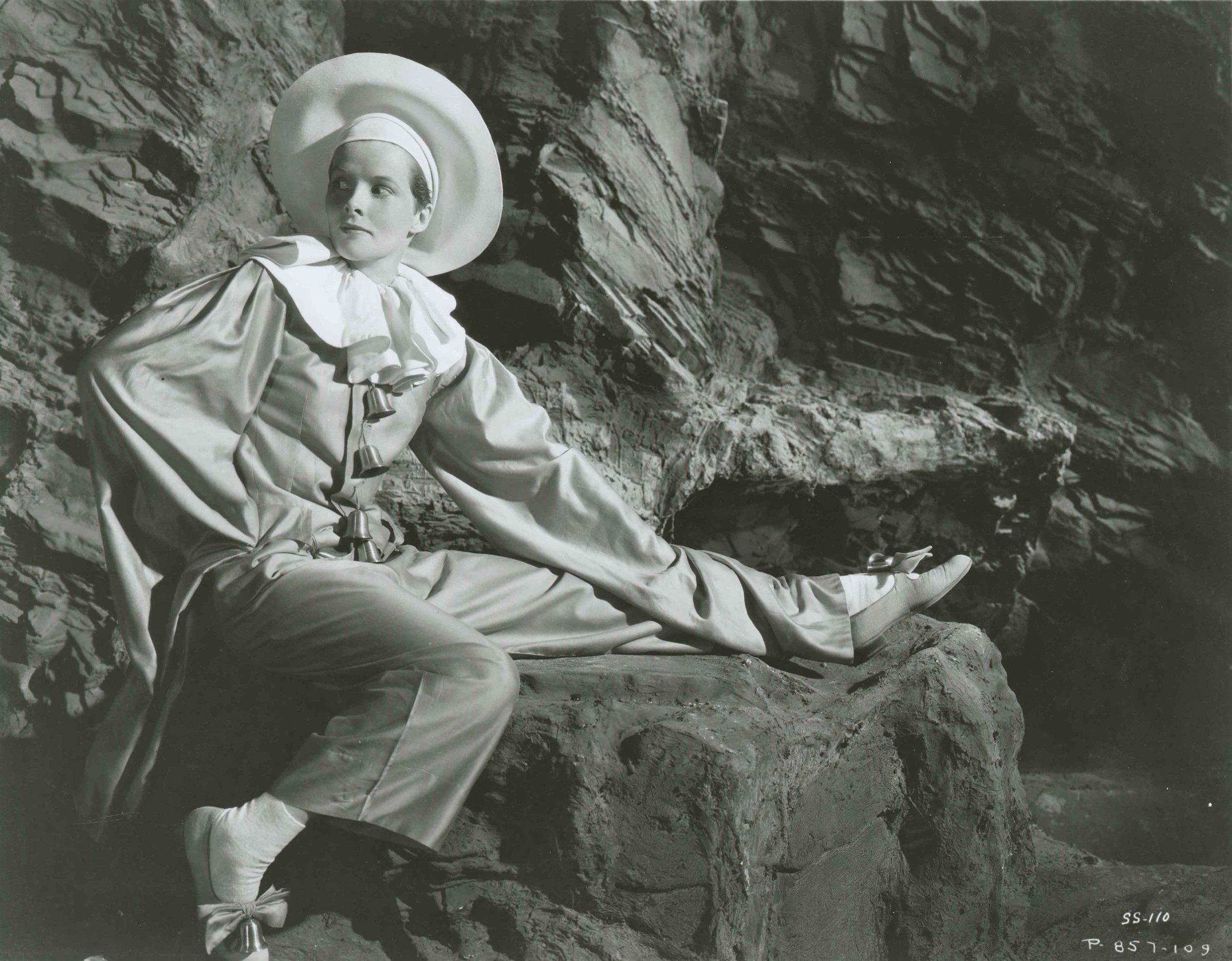 Katherine Hepburn in Sylvia Scarlett, 1935 Photo RKO Studio. Source BFI National Archive.