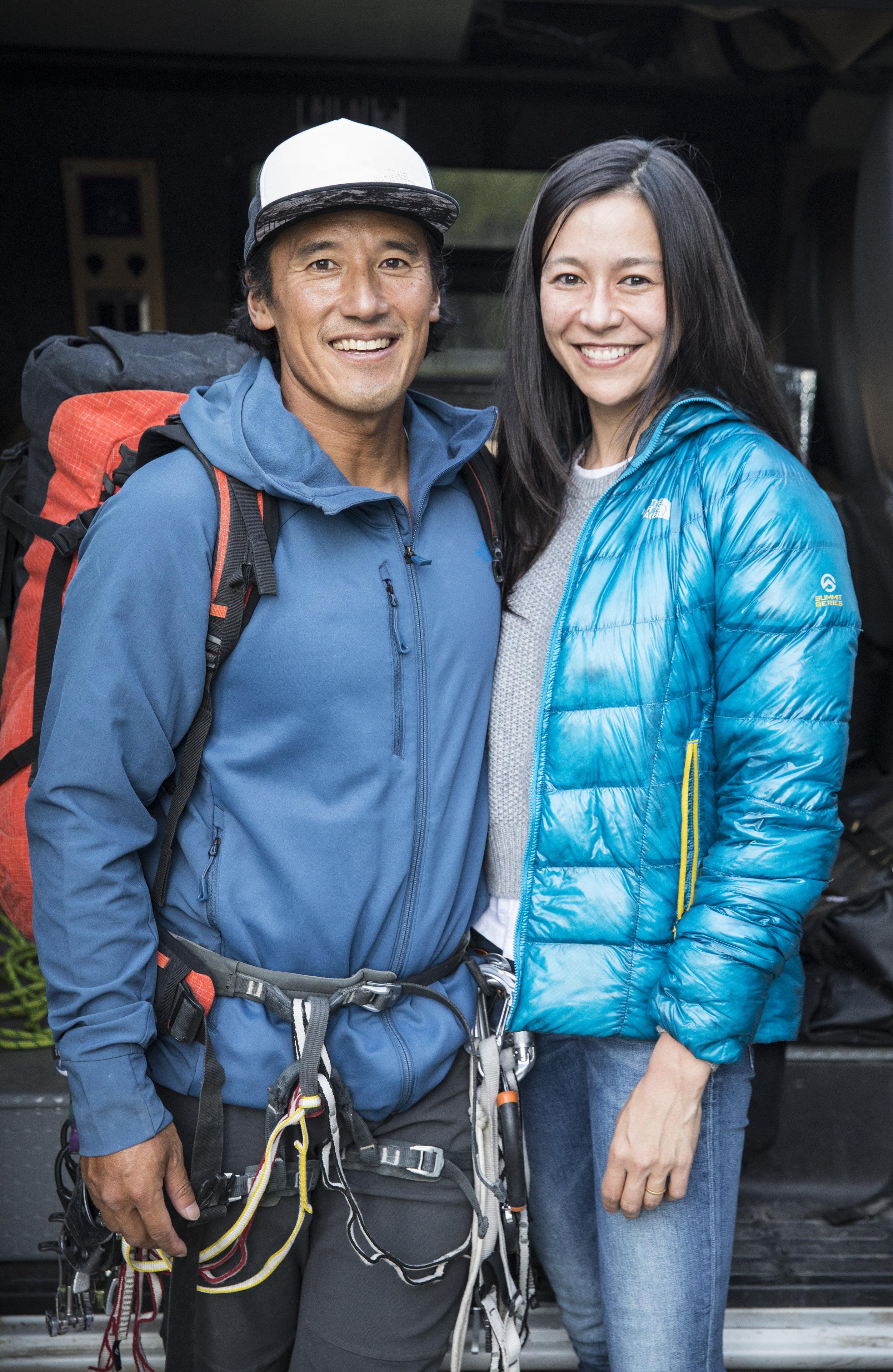 Elizabeth Chai Vasarhelyi and Jimmy Chin
