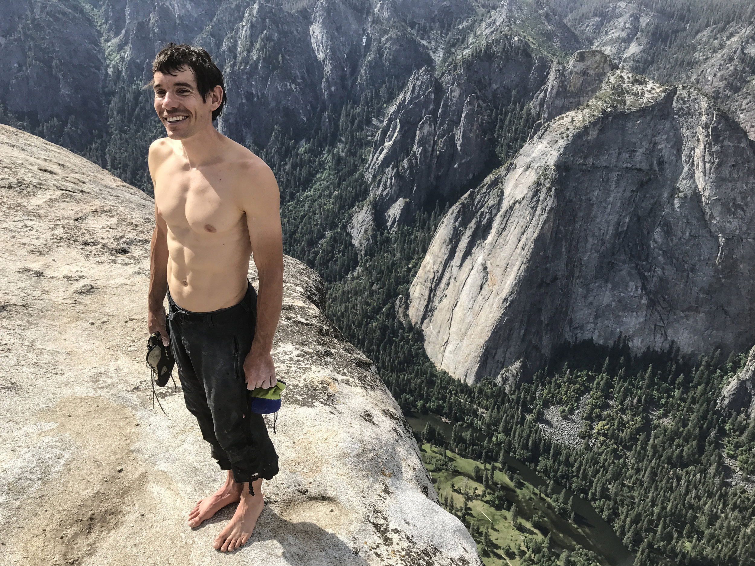 Alex Honnold CREDIT: National Geographic