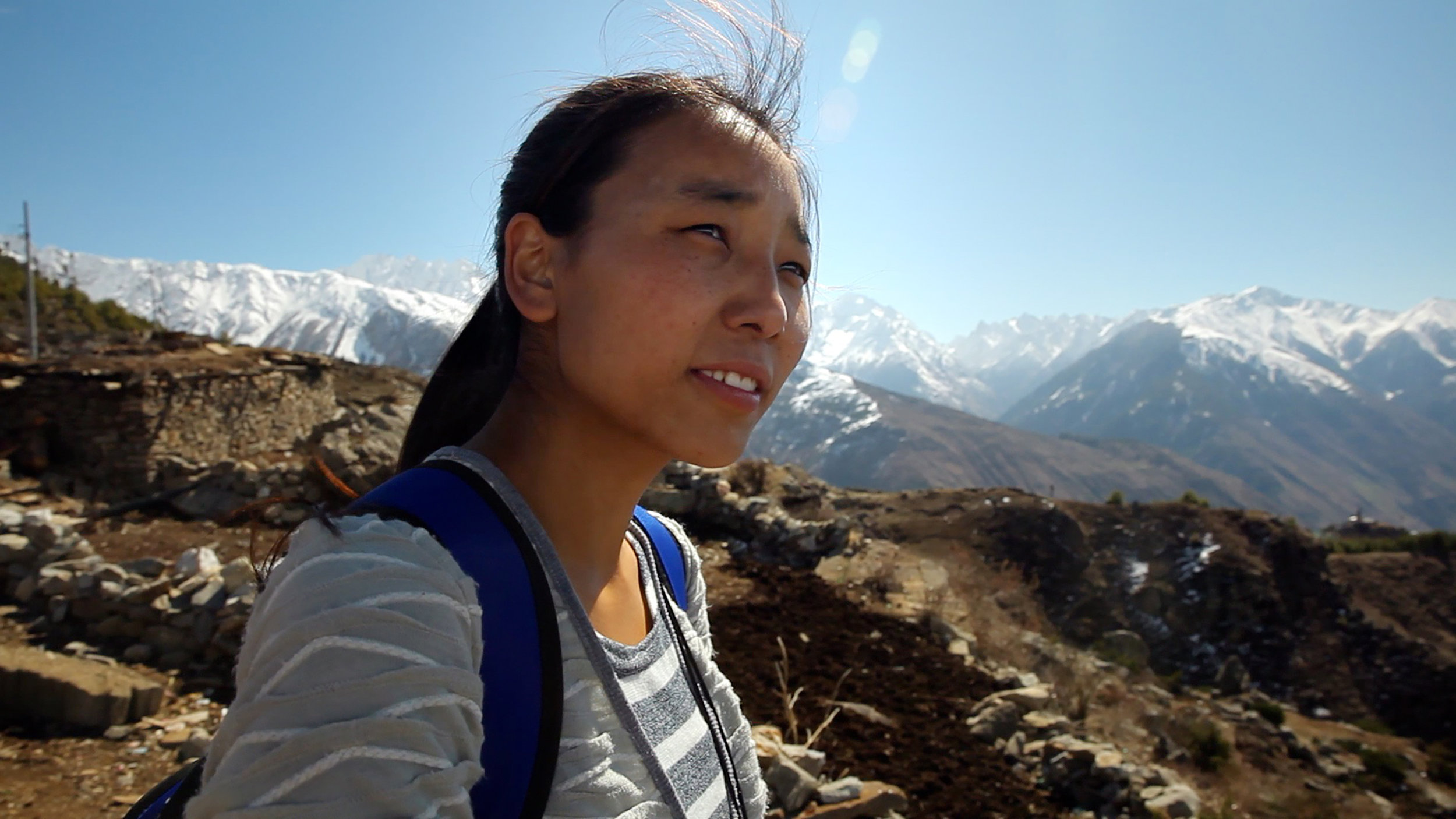 Tsering Deki Lama, one of the stars of 'Children of the Snowland.' CREDIT: Dartmouth Films