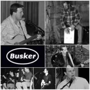 Busker Band BW Photo.jpg