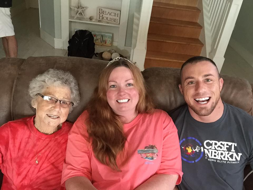 Here having fun with my Cousin and my Grandmother who I lost in 2016. I am so thankful for my Granny as she set an example for me to live up to And is one of the reasons I opened this Academy. I am doing my best to make you proud!